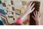 Тактильно-разивающая панель «Кисточки» - Интернет-магазин школьного и спортивного оборудования Квазар, Екатеринбург