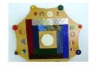 Тактильный диск с декоративными элементами - Интернет-магазин школьного и спортивного оборудования Квазар, Екатеринбург