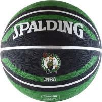 Мяч баскетбольный Spalding  Boston Celtics - Интернет-магазин школьного и спортивного оборудования Квазар, Екатеринбург