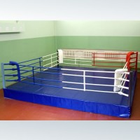 Ринг боксерский 4*4м + помост 0,5 м  - Интернет-магазин школьного и спортивного оборудования Квазар, Екатеринбург