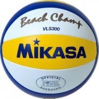 Мяч для пляжного волейбола Mikasa VLS300 Beach Champ  - Интернет-магазин школьного и спортивного оборудования Квазар, Екатеринбург