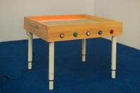 Световой стол для рисования песком из бука - Интернет-магазин школьного и спортивного оборудования Квазар, Екатеринбург