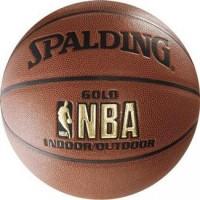 Мяч баскетбольный Spalding NBA Gold Series Indoor/Outdoor - Интернет-магазин школьного и спортивного оборудования Квазар, Екатеринбург