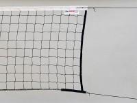 Сетка волейбольная тренировочная KV.REZAC арт.15955431, 3,0 мм, черный  - Интернет-магазин школьного и спортивного оборудования Квазар, Екатеринбург