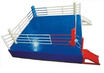 Ринг боксерский на подиуме 7,5х7,5м - Интернет-магазин школьного и спортивного оборудования Квазар, Екатеринбург
