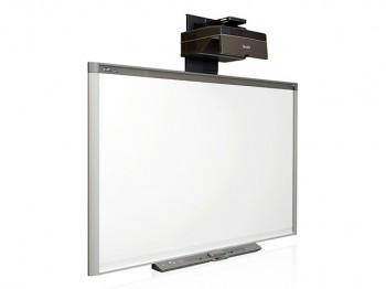 SMART Board SBM680 с пассивным лотком с проектором SMART UF70 - Интернет-магазин школьного и спортивного оборудования Квазар, Екатеринбург
