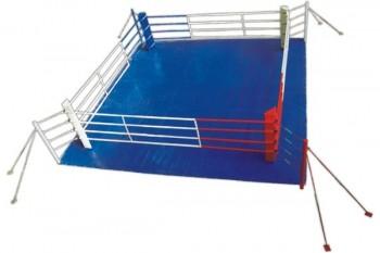 Ринг боксерский 4*4м напольный  - Интернет-магазин школьного и спортивного оборудования Квазар, Екатеринбург